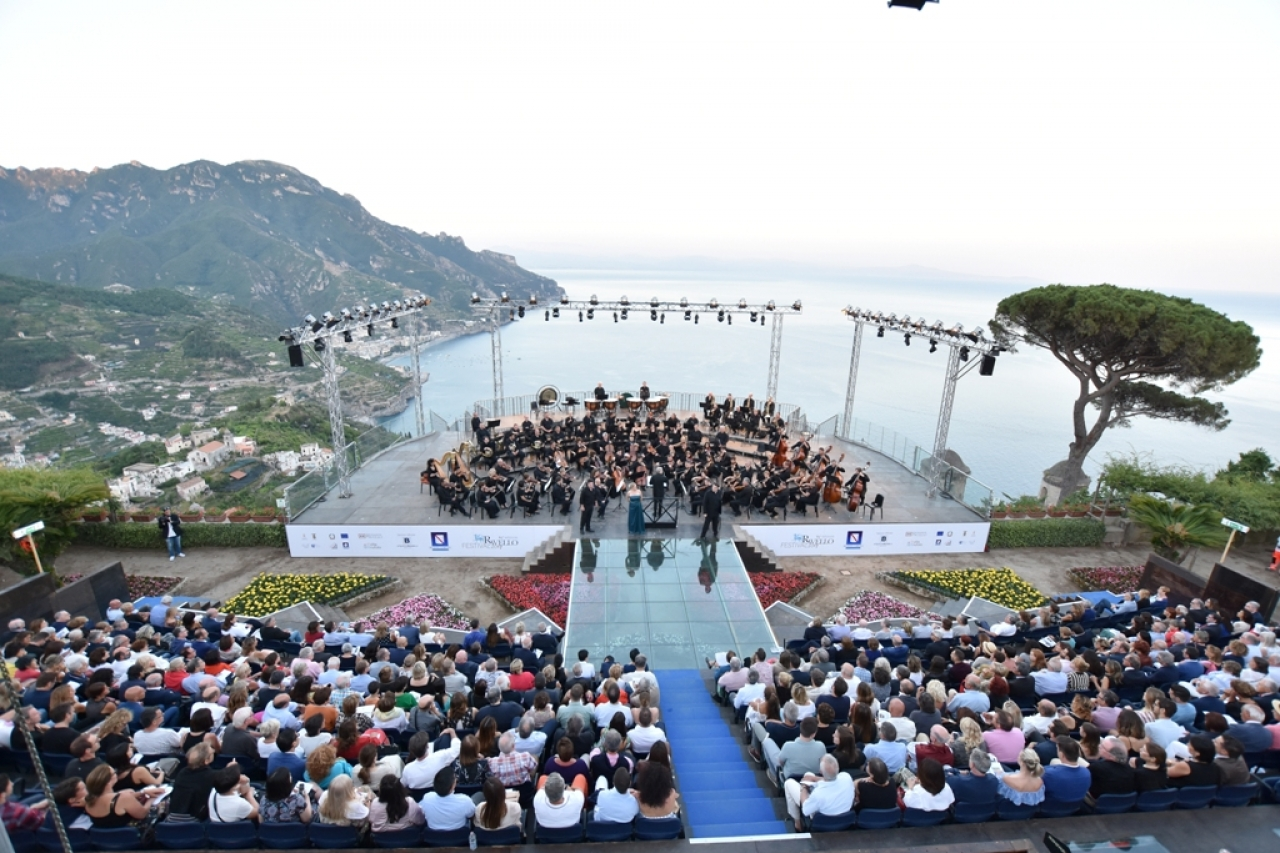 The Orchestra Mozart with Daniele Gatti at the Ravello Festival